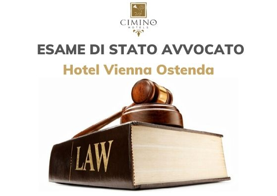 Esame Avvocato a Rimini 2019. Offerta Hotel 4 stelle